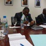 Reunión con los Embajadores de los Estados Miembros. Luanda, Nov 2015