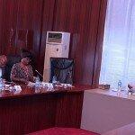 Visita a S.E. M. Buhari, Presidente da Nigeria. Abuja, noviembre de 2016