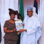 Visita a S.E. M. Buhari, Presidente de Nigeria-Abuja, Nov 2016